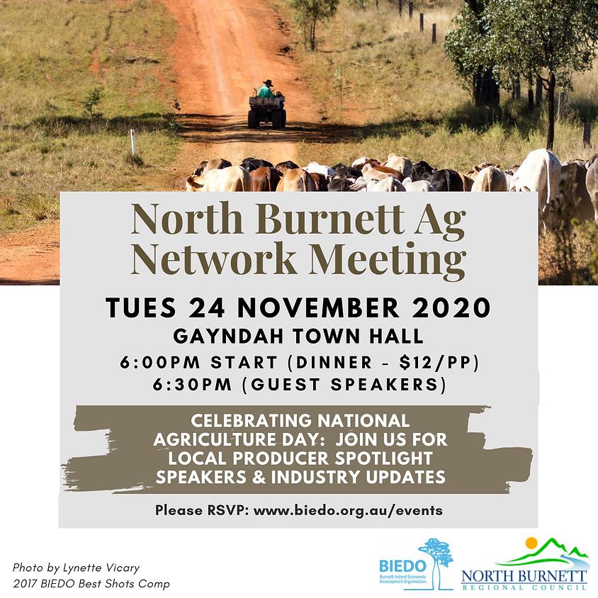 North Burnett Ag Network Meeting: November 2020