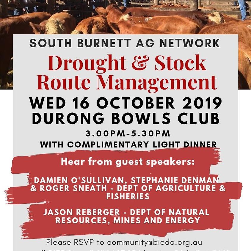 South Burnett Ag Network: Drought & Stock Route Management