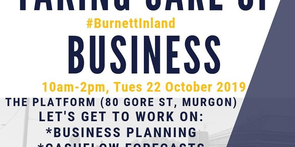 Taking Care of #BurnettInland Business