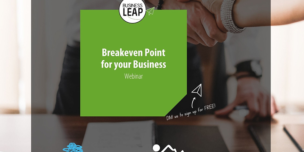 Taking Care of Business Webinar - Breakeven point for your business