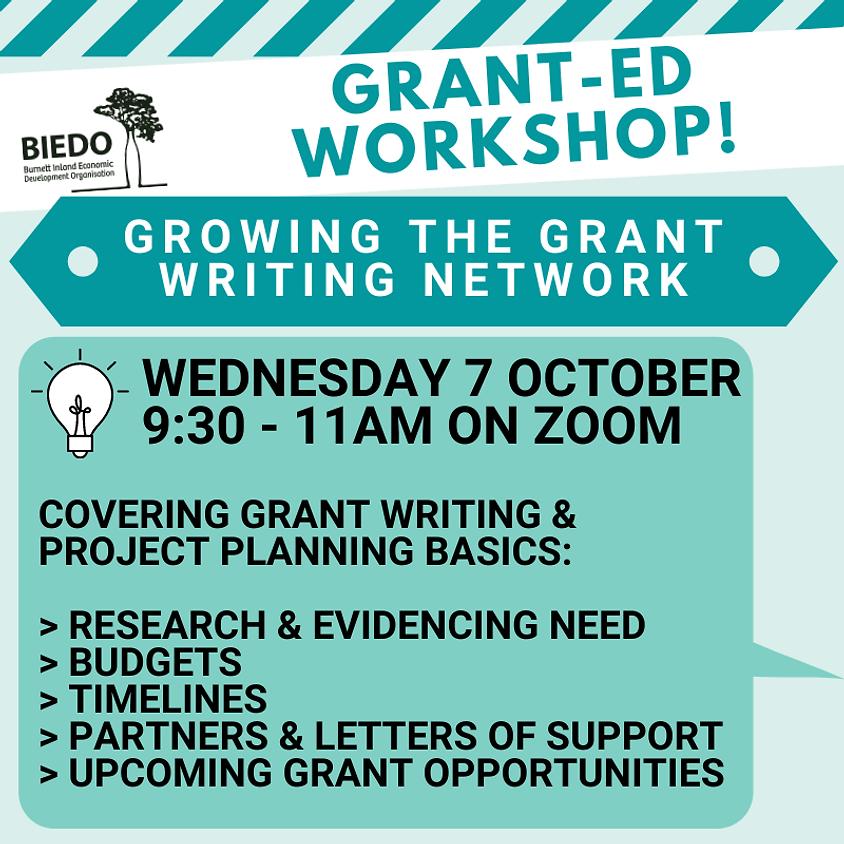 Grant-ED Workshop: Grant Writing & Project Planning Basics