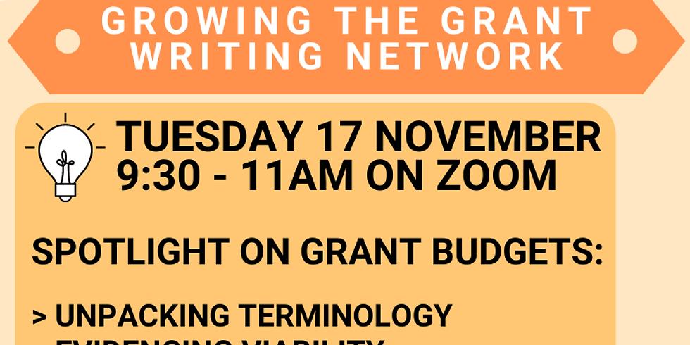 Grant-ED Workshop: Budgets