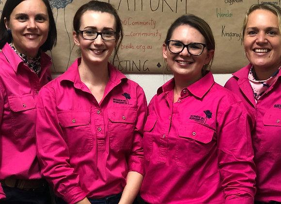 Women in Work Shirts