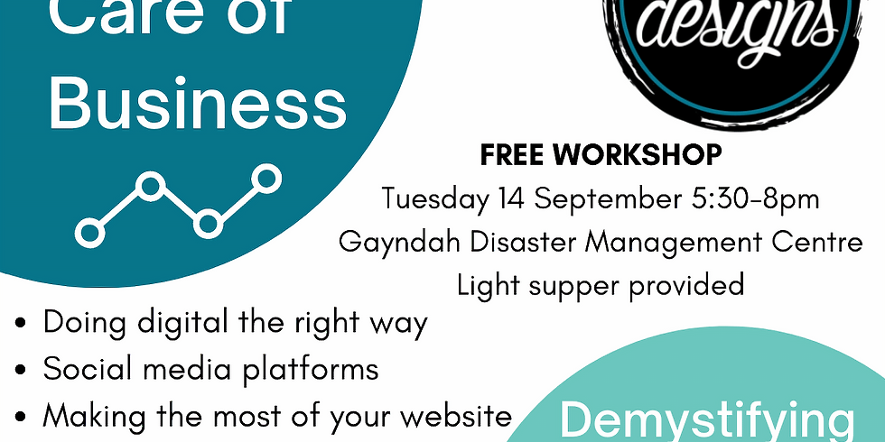 Taking Care of Business - Demystifying your online presence