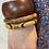 Thumbnail: Set houten armbanden