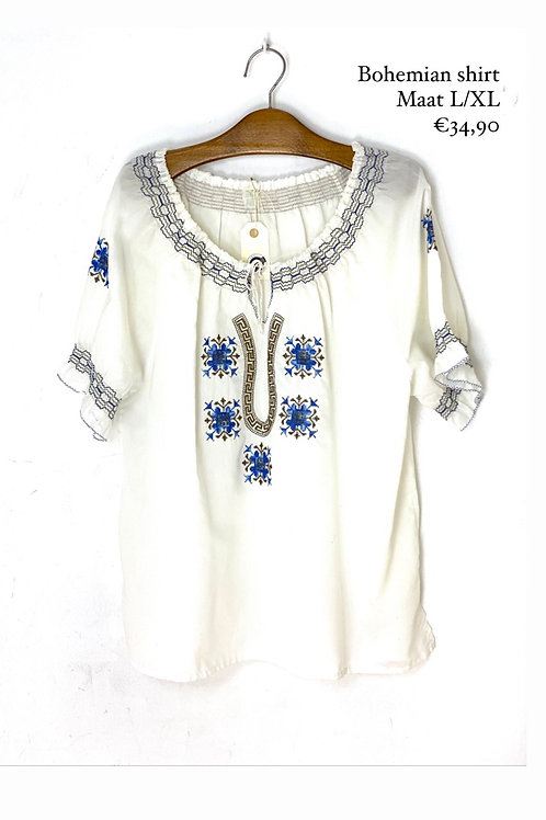 Bohemian folkore blouse