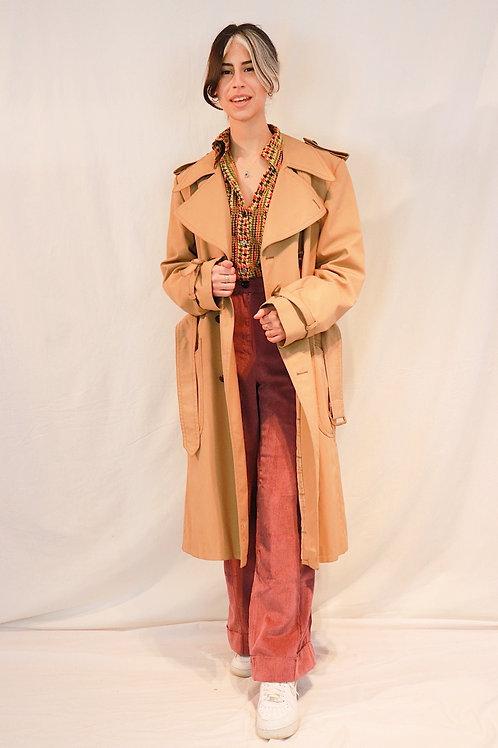Vintage genderfree trenchcoat