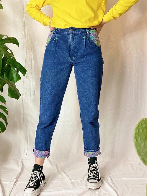 Gevoerde jeans