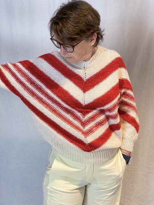 Batsleeve knit