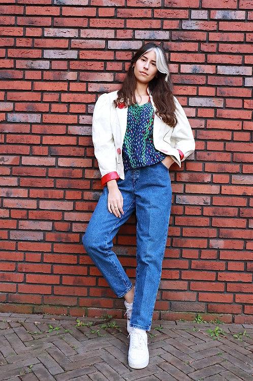 High waist 90s jeans