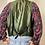 Thumbnail: Haberdasher leren gilet /waistcoat