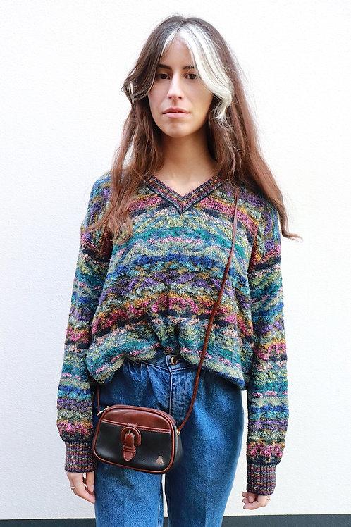Vintage colourful knit