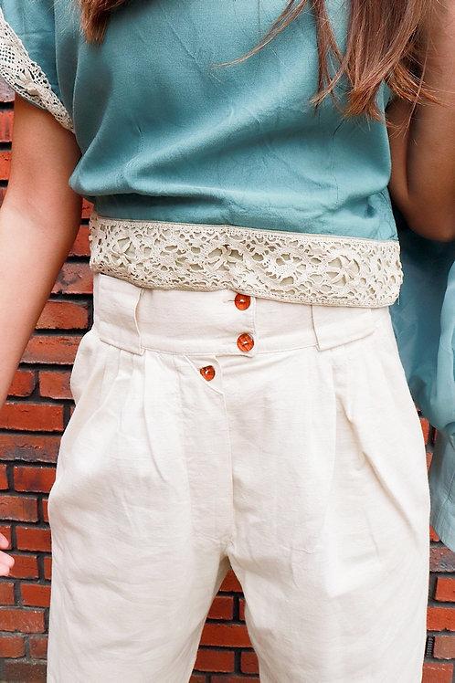 Vintage linnen broek