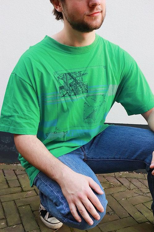 Vintage 90s print shirt