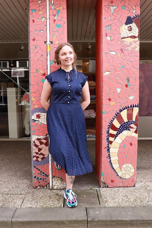 Vintage polkadot jurk