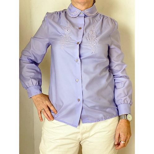 Vintage lila blouse