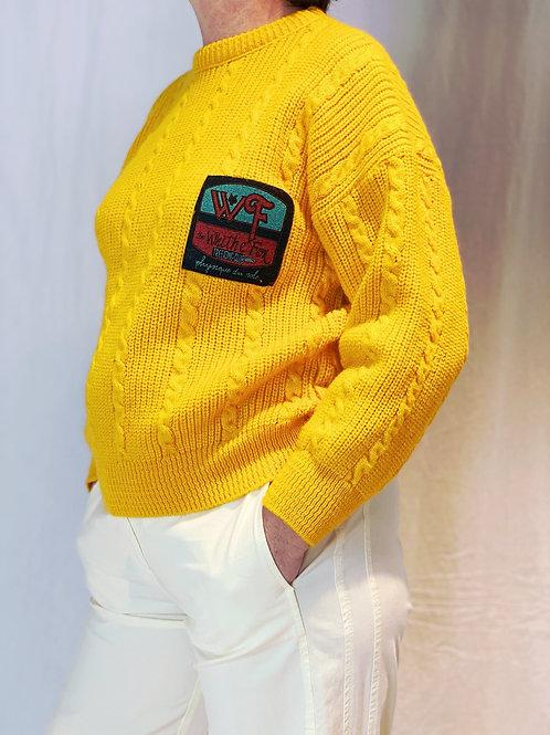 Gele 90s trui