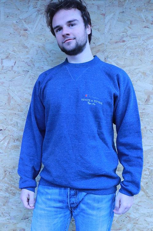 Vintage Champion sweater blauw
