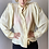 Thumbnail: 80s puffy wide arm blouse