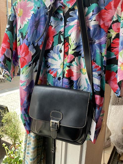 Vintage vegan leather bag