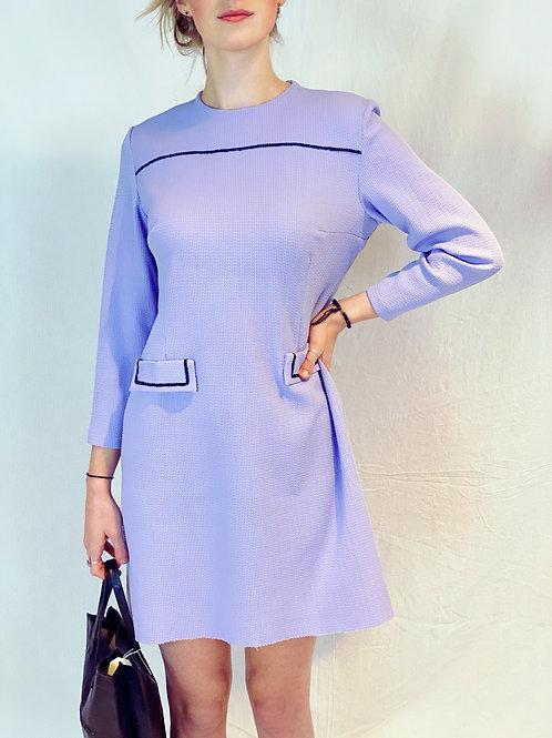 Lila 60s dress