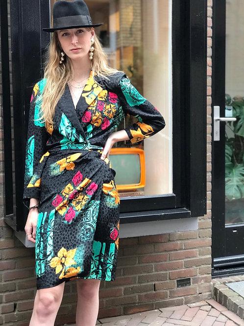 Vintage Sheila de Vries wrapdress