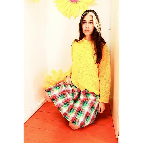 90s gele knit