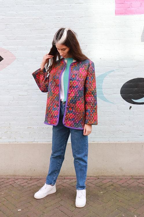 Vintage print jasje