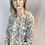 Thumbnail: Katoenen bloemen jurkje / tuniek