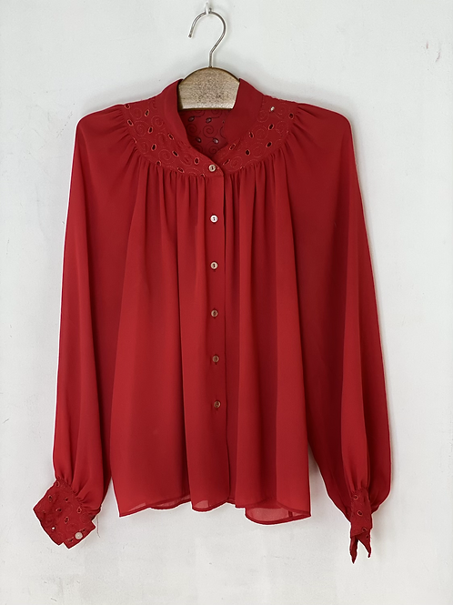 Rode embroidery blouse