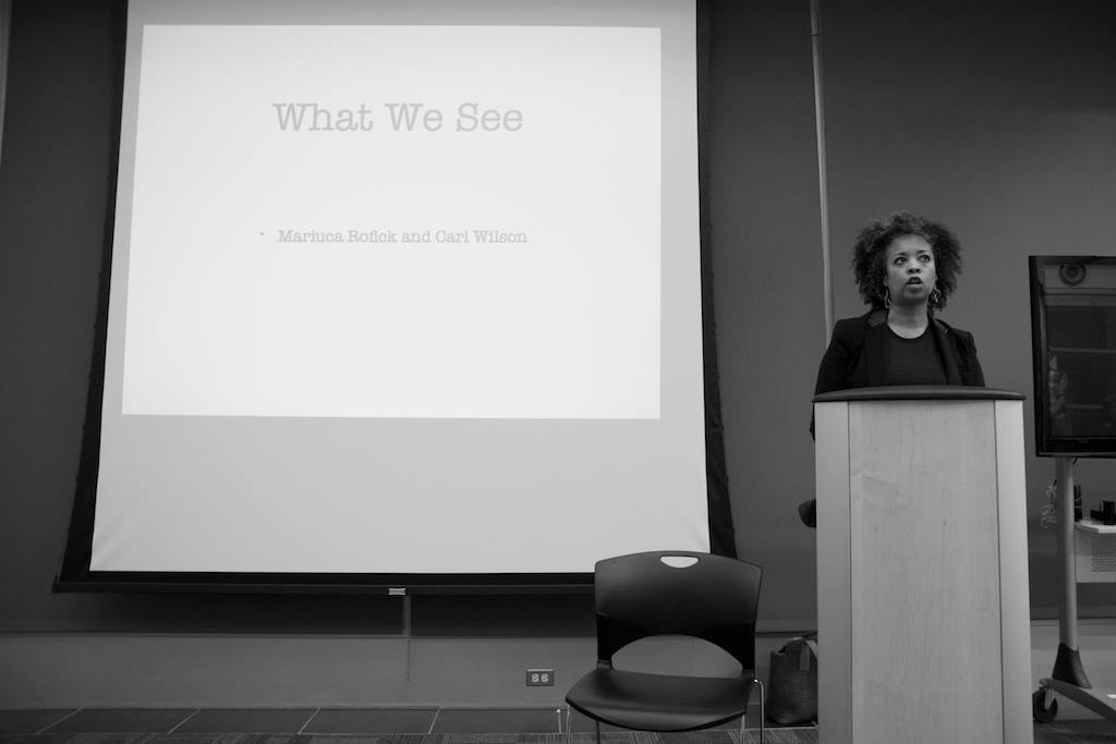 What We See, Artist Talk