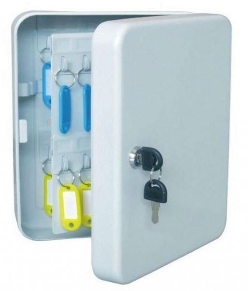 خزانة مفاتيح معدن 48 مفتاح للجراج ومكتب اللأمن