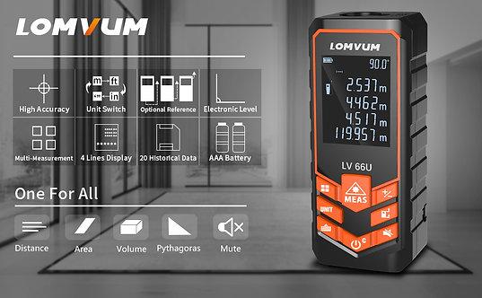 جهاز قياس المسافات حتى ١٢٠ متر من lomvum