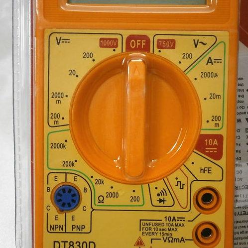 افوميتر ديجيتال موديل DT830D