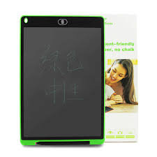 Electronic board for children, green color 8.5 inch