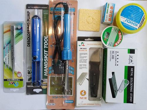 Mobile Code 00111 repair kit consists of 9 pieces