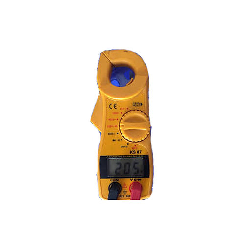 Clamp meter electric current meter
