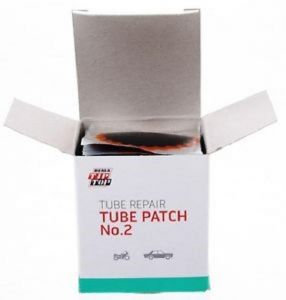 Pack of Patches for welding German tubes, Topp Top size 2