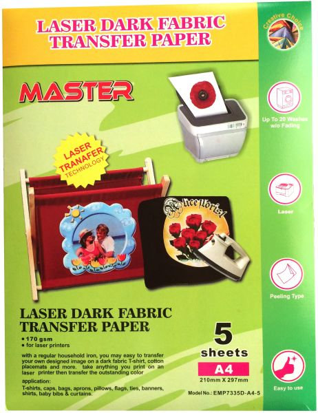 Transferr thermal paper used for fabrics