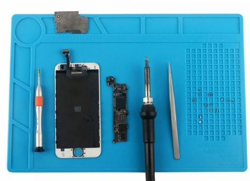 A mobile phone and electronics maintenance