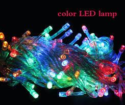 Colorful LED lighting strip for laser decoration 10 meters