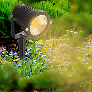 War spot 120 watt for garden lighting
