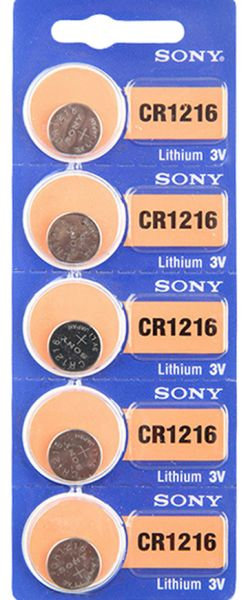 Sony Battery Compatible with 3 V floodlights - CR1216