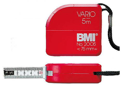 A tape measure of 5 meters from a German BMI