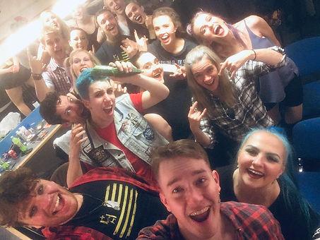 American Idiot cast selfie
