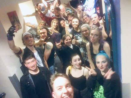 American Idiot second night selfie