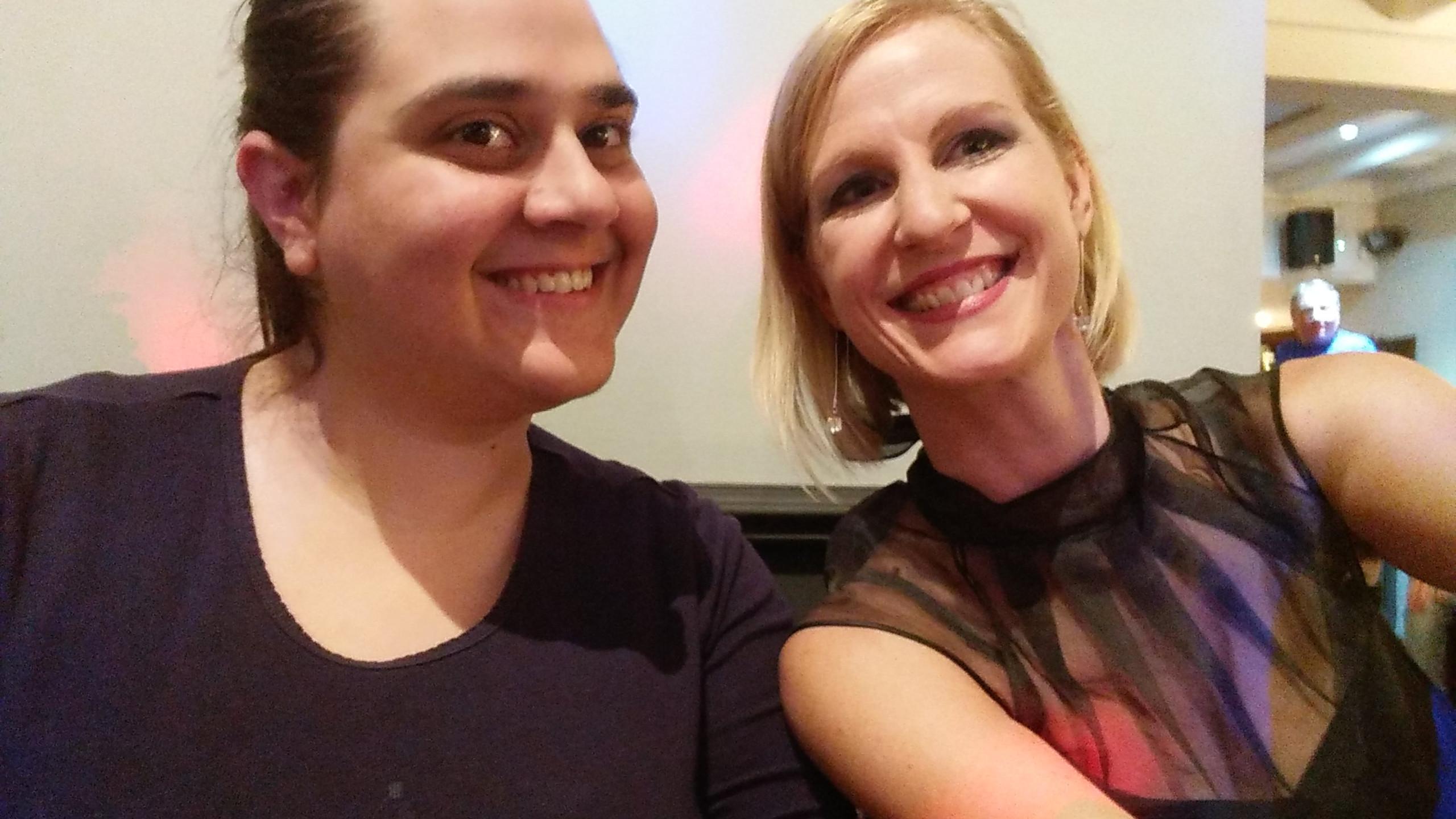 Megan & Emma, Pied Pipers Publicity & Social Team 2018-19