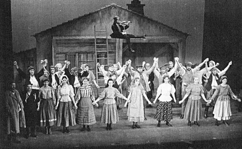 Pied Pipers production of Fiddler in the Roof, 1973