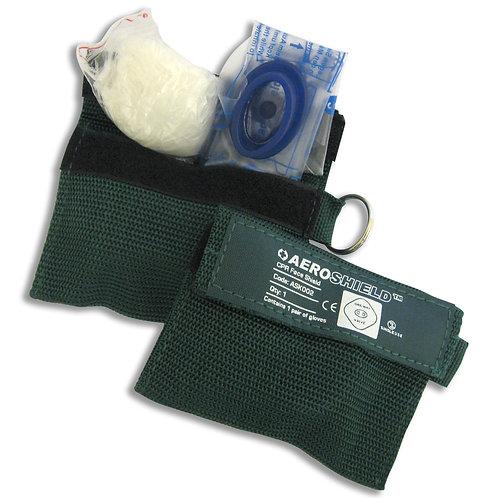 Keyring Resusitation Mask and Gloves