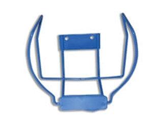 Blue Steel Wall Bracket for HeartSine defibrillator